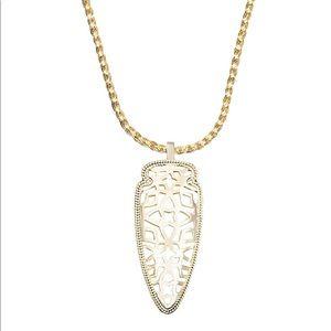 Kendra Scott Sienna Pendant Necklace Gold